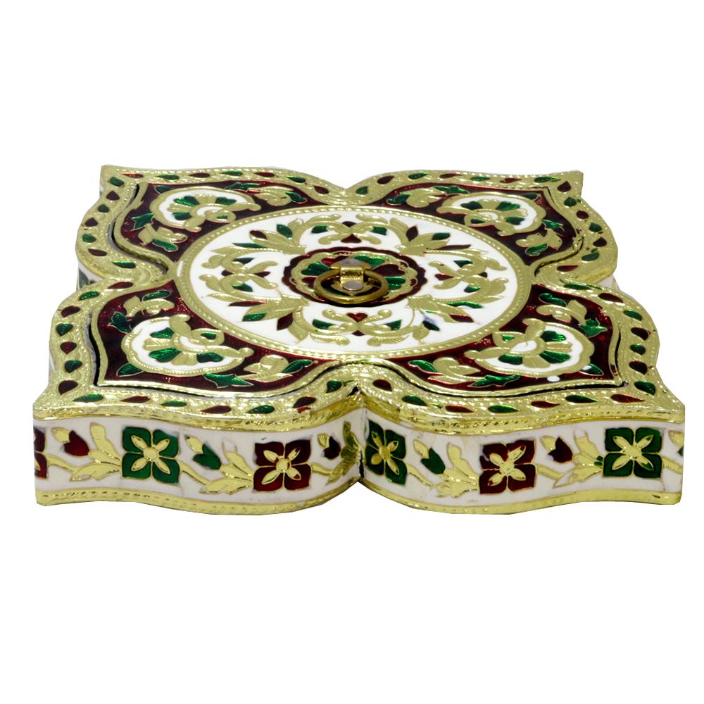 Appealing Meenakari Designed Wooden Handmade Box