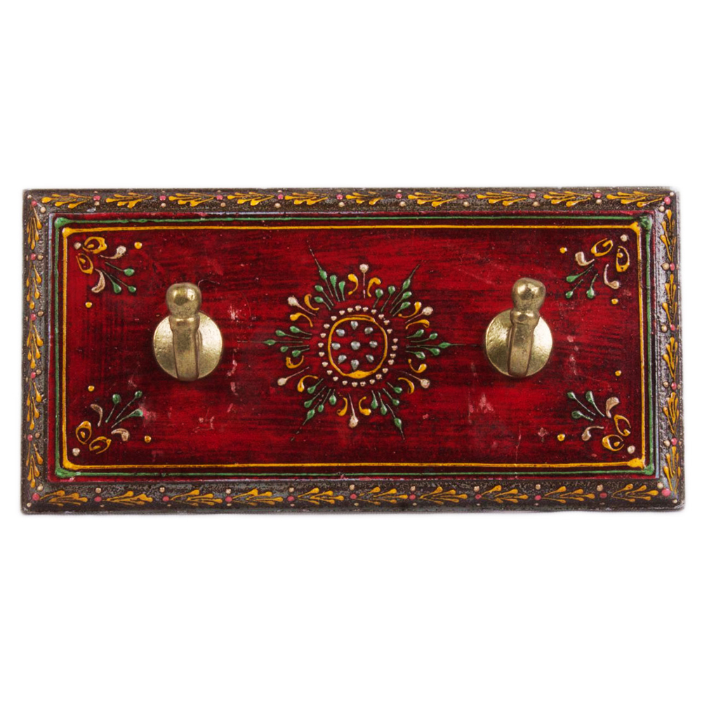 Beautiful Hand Painted Dual Wall Hanger for Your Home