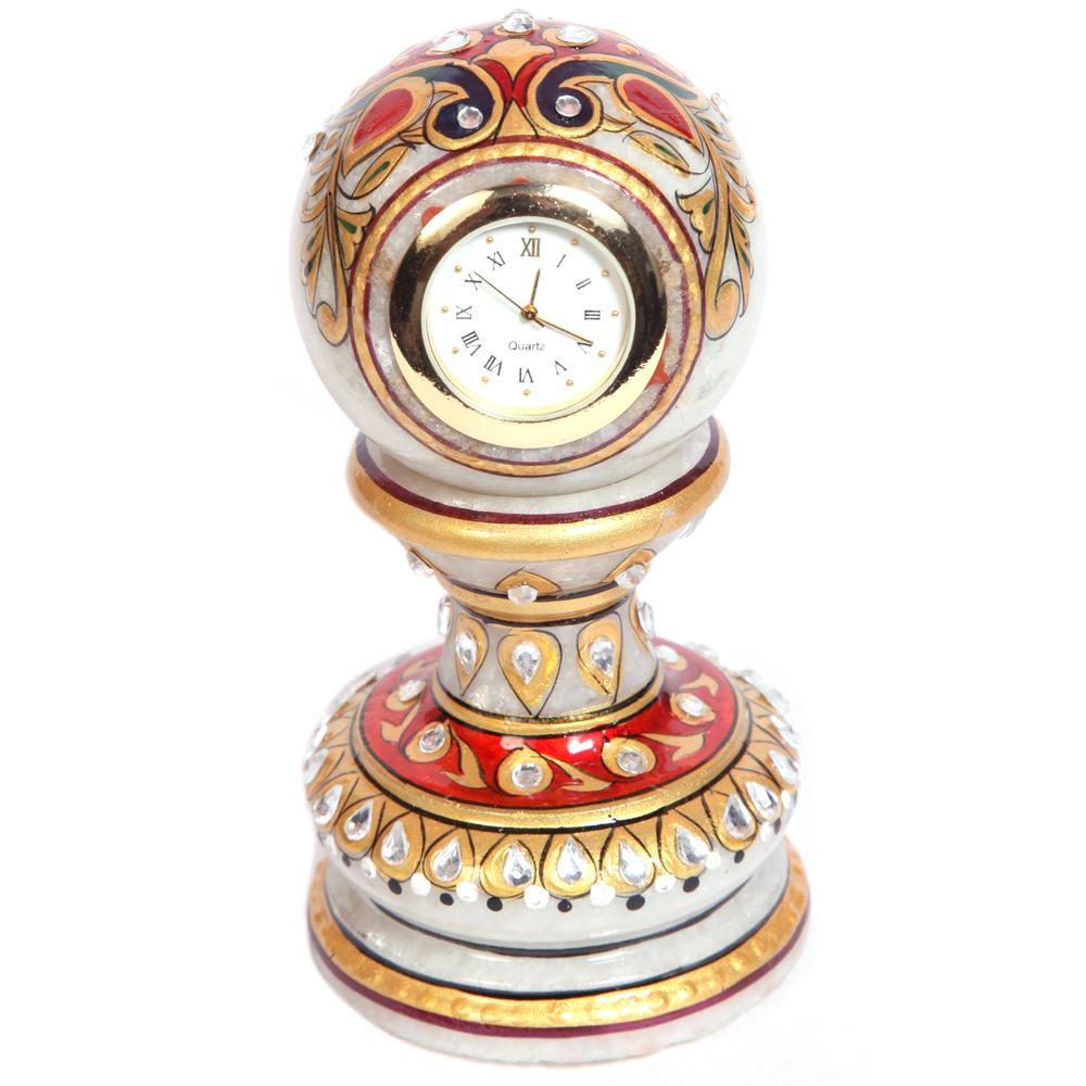 Pillar Watch Handicrafts Of Meenakari Marble Online