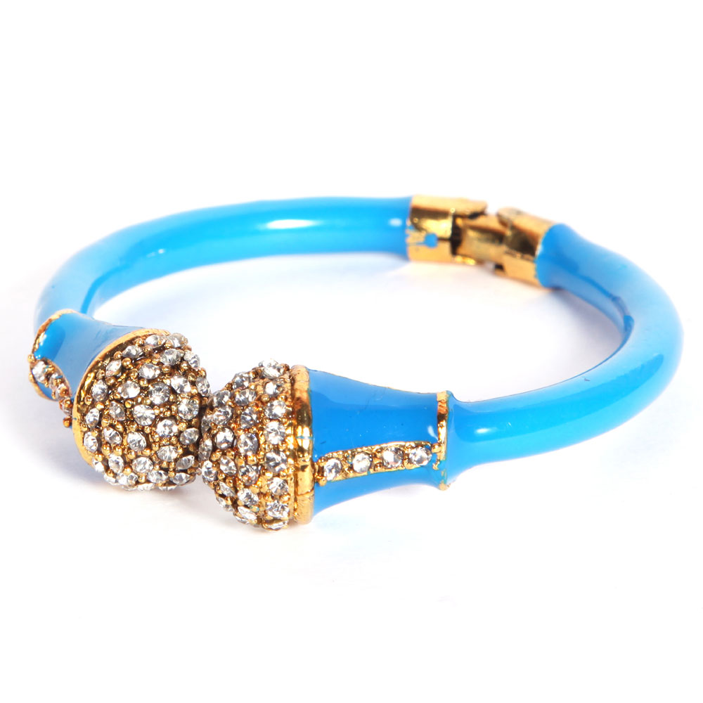 Blue pair of bangles