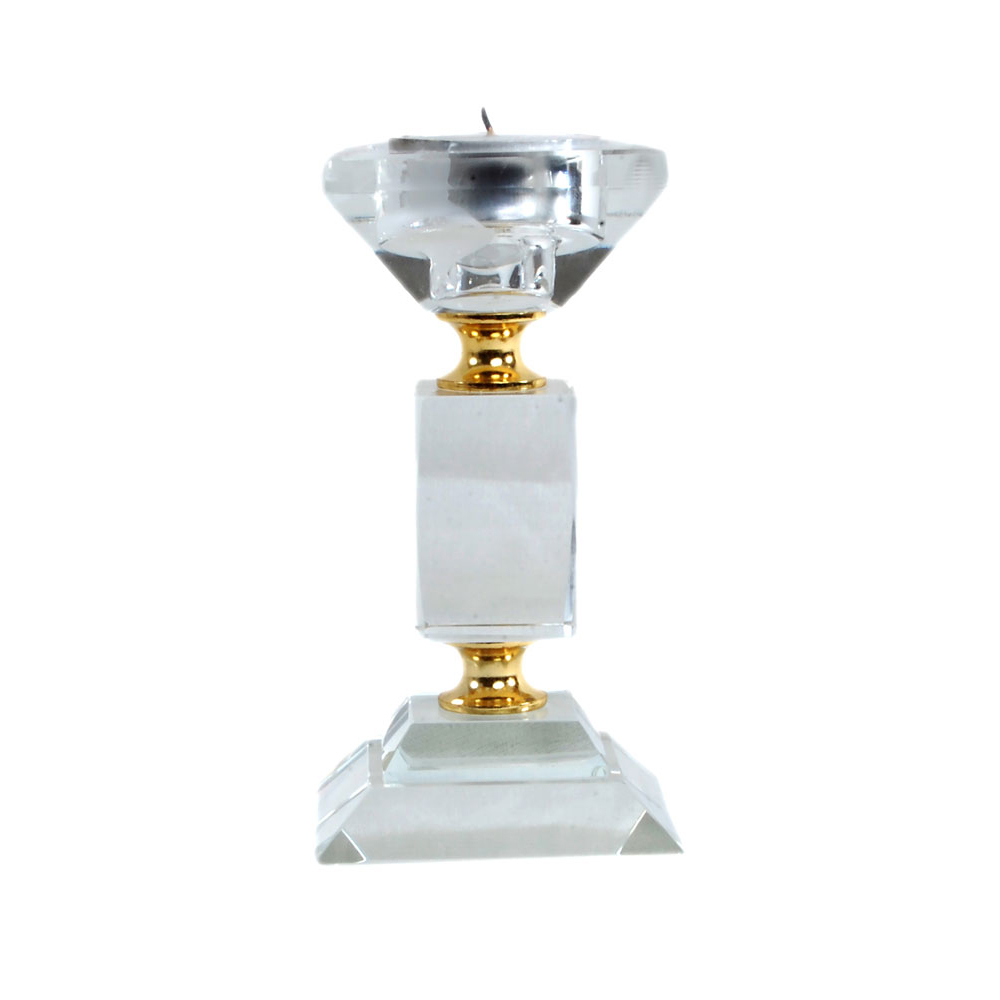 Decorative diamond shaped candle stand holder