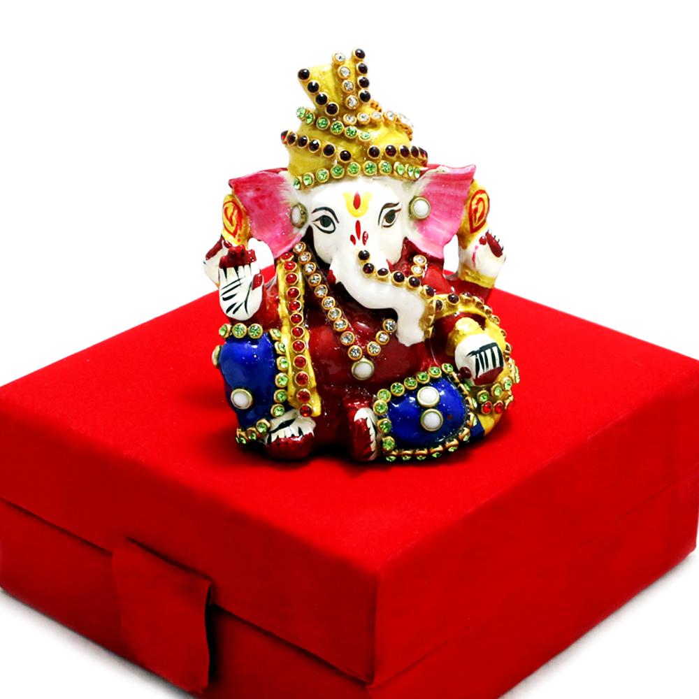 Designer Ganesh Ji In Blessing Posture
