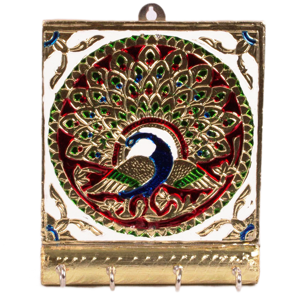 Excellent Wall Key Hanging in Wonderful Meenakari Work
