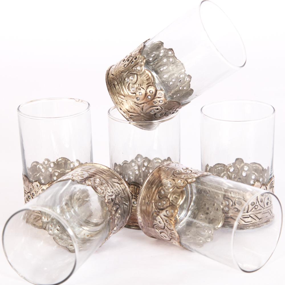 Oxidized 6 Piece Glass Set  - Oxidized 6 Piece Glass Set Handicraft Items