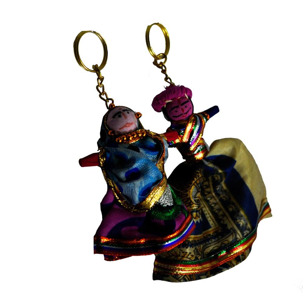 Bani Thani Keychains Made Of Thread And Cloth - Boontoon Thread keychain2