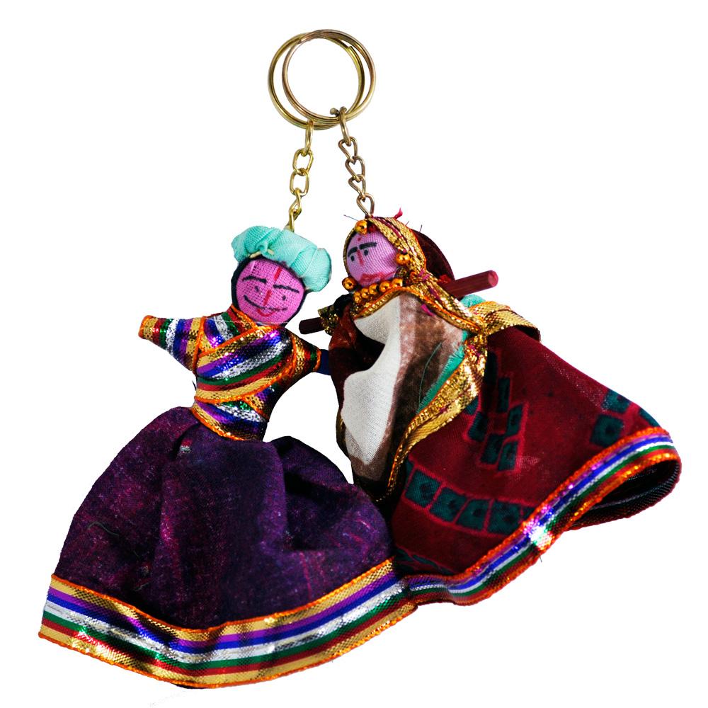Bani Thani Keychains Made Of Thread And Cloth - Boontoon Thread keychain3