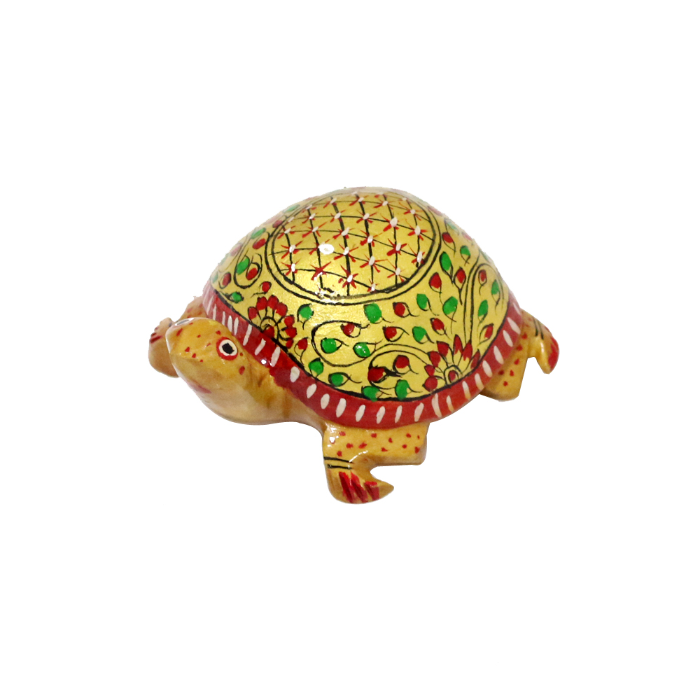 Intensely Designed Handcrafted Tortoise Made Of Wood - Intensely Designed Handcrafted Tortoise Made Of Wood1