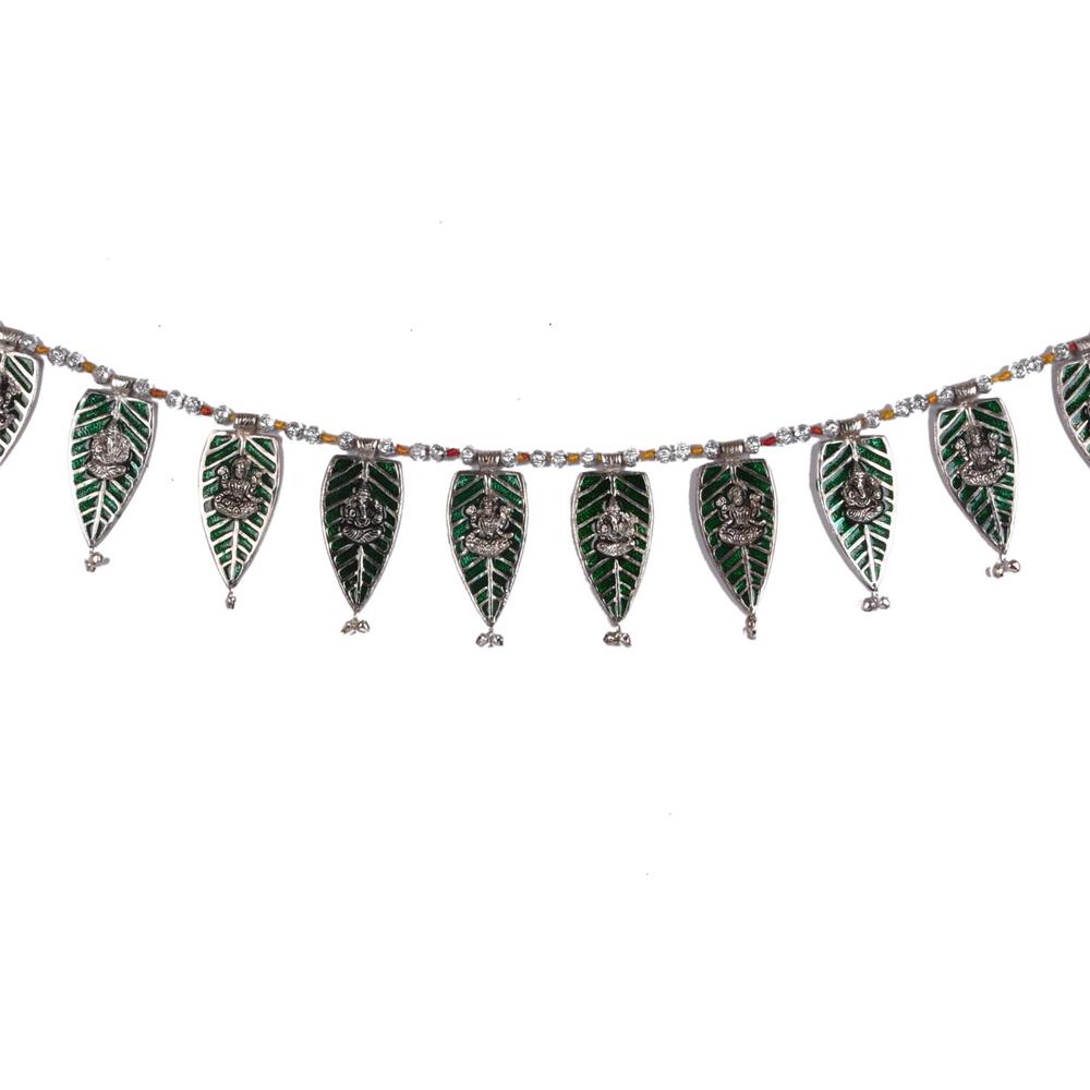 Get this wonderful oxidised metal bandarwal at the best price - oxidised metal bandarwal for home decor