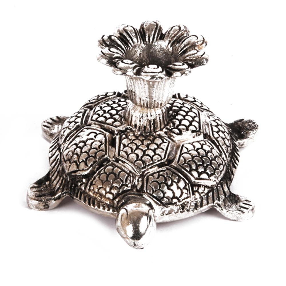 Buy this beautiful and elegant tortoise shaped candle stand - tortoise shaped candle stand