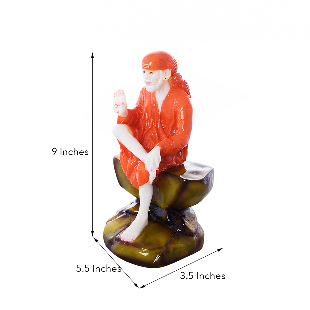 High Quality Divine Sai Baba Polyresin Figurine - Sai baba figurine