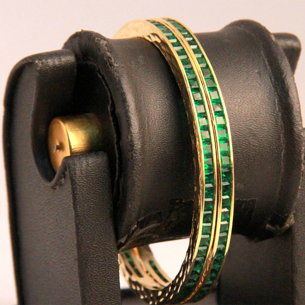 Green ad adorable bangles