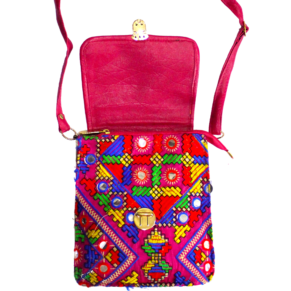 High Quality Colourful Fabric Bag With Buckle