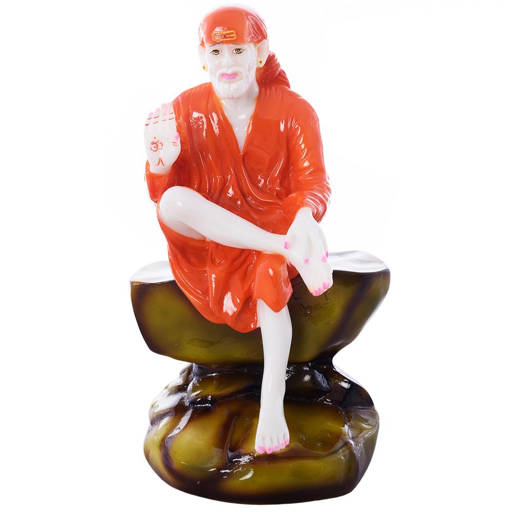 High Quality Divine Sai Baba Polyresin Figurine