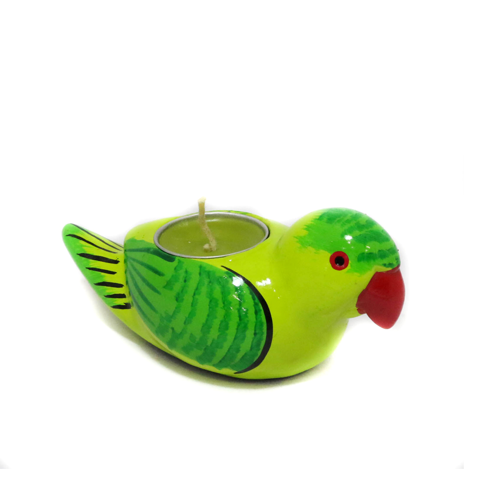 Parrot Shaped T-Light Candle Stand