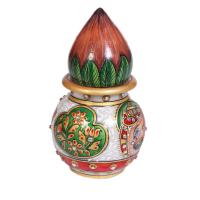 Marble Meenakari Beads Handicrafts Matki & Kalash Online
