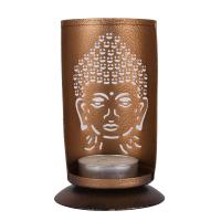 Iron Buddha candle hanger