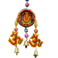 Ganesha & Om Wall Hanging Wind Chime Online For Good Vastu