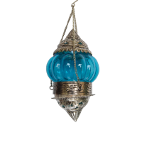 Decorative Hanging Candle Stand in Oxidized Metal