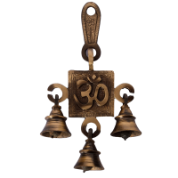 Feel The Tinkling Of Om Brass Hanging Bells In Your Home