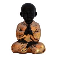 Fiber Meditating Baby Monk