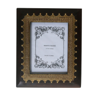 Half Brass Photo Frame