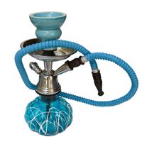 Designer Turquoise Metal Handicrafts Hookah Online