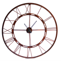 Handcrafted Iron Wall Clock