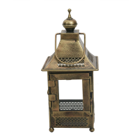 Iron And Copper Handcrafted Lantern