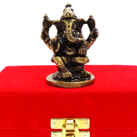 Lord Ganesh Made Of Brass For Decoration
