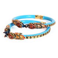 Overlaid brassed bangles