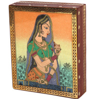 Rajasthani princess gemstone jewellery box
