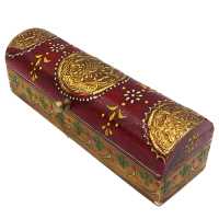 Wood & Brass Box with Embossed Box