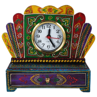 Wooden Multicolor Drawer With Watch-Add Style To Your Lifestyle