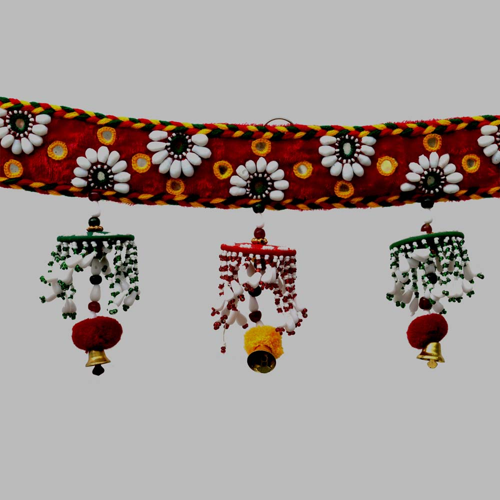 Traditional bandhanwar for decorating walls and doorways.